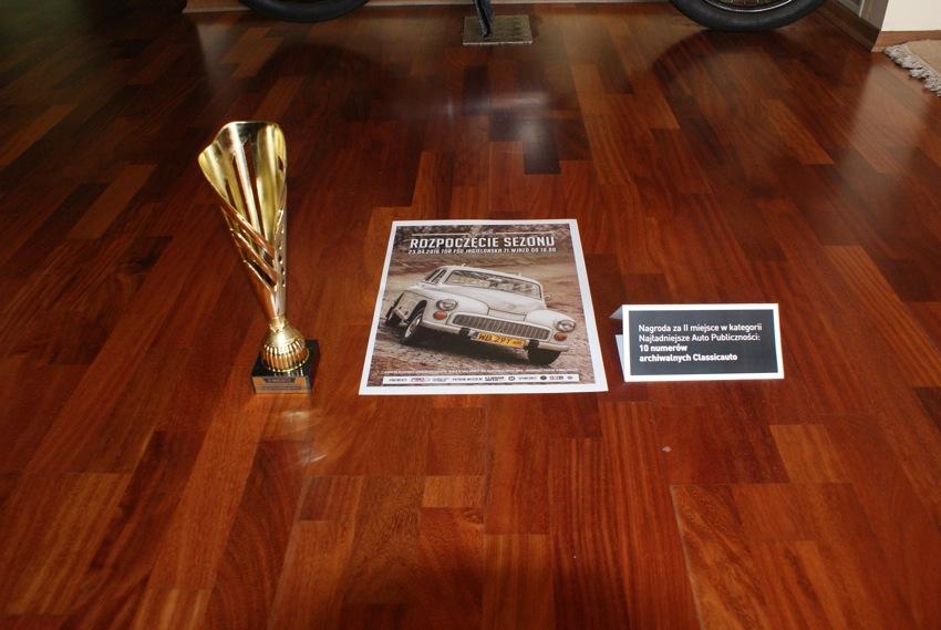 Pora się chwalić! Wygralim w konkursie publiczności puchara i ręczniki do mycia samochodu oraz 10 numerów pisma Classic Auto