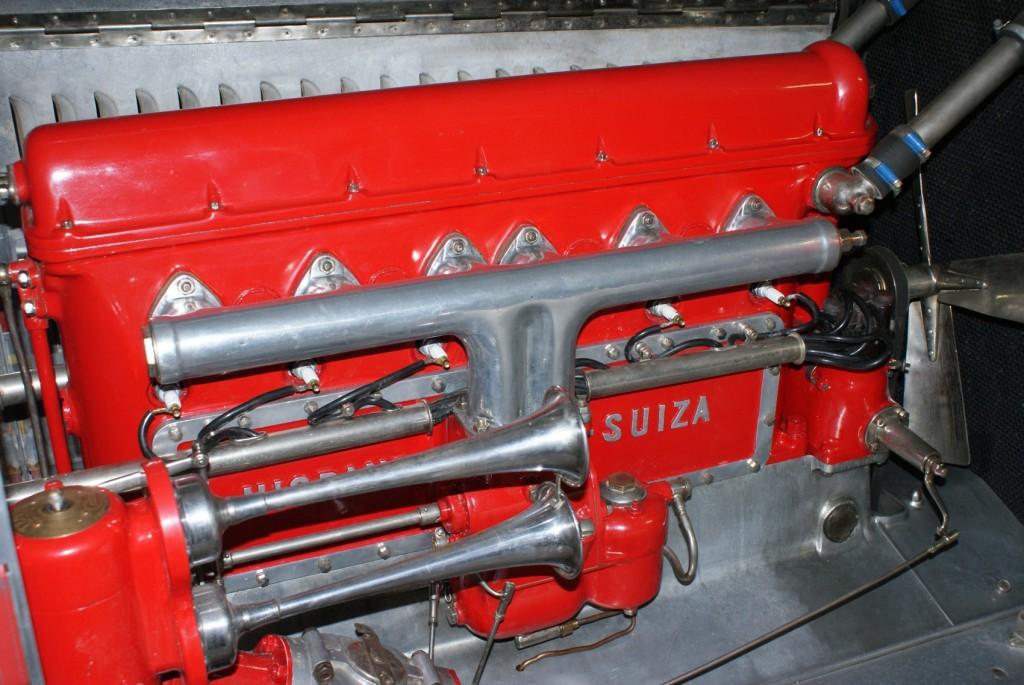 Silnik Hispano Suizy w kolorze rewolucji pażdziernikowej, ja zrobiłem jeszcze bardziej