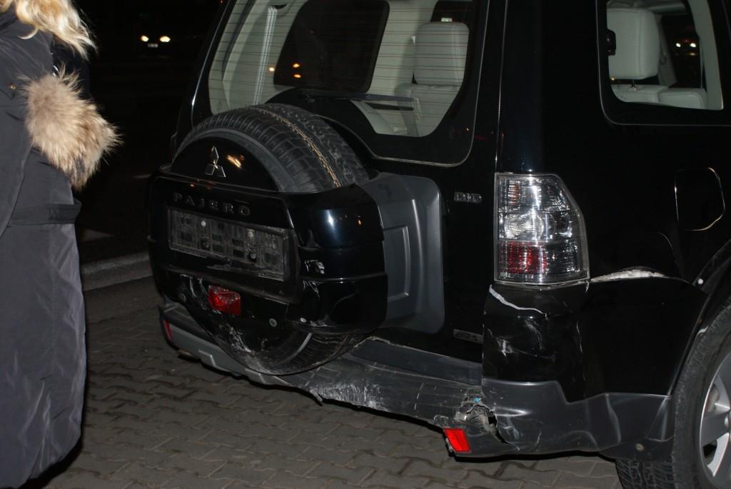 Samochód poszkodowanych