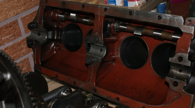 Silnik Ford T cz. 1- Zabieram silnik z Altamiry
