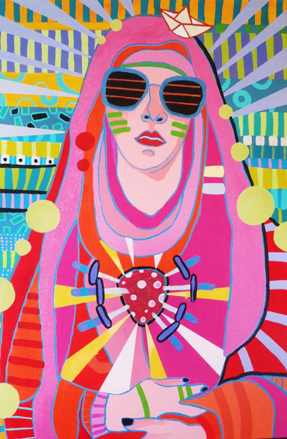 I słynna Madonna namalowana przez niego!