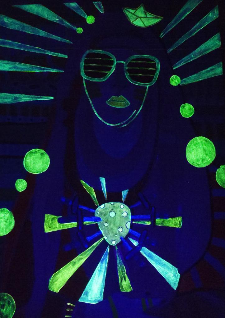 Obraz Marcina Painty świecący w nocy!