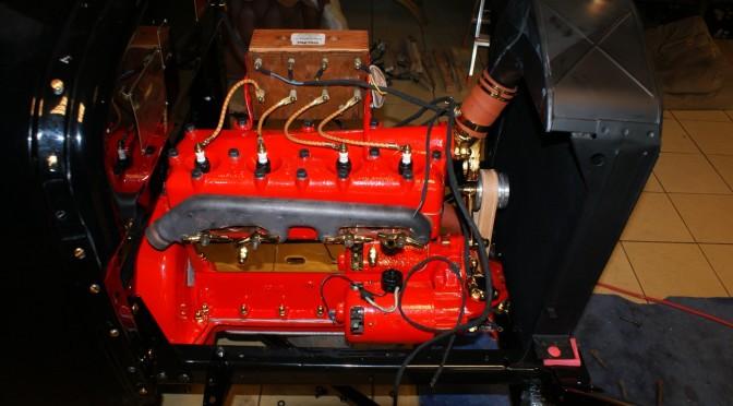 Montaż silnika Ford T 1924 r. cz.3 Gotowy !