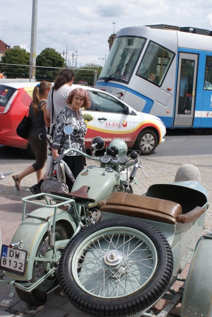 Sokół 1000 to ikona polskiej motoryzacji, ale kolor sprawdziłem to ściągnięty
