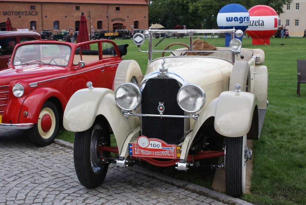 Austro Daimler ADR 8 Apolinarego Bartnickiego mega ciekawy pojazd zwiazany z historią polski. niedługo napisze wam o tym samochodzie. Ale niestety nigdy go juz nie zobaczycie, został sprzedany do niemiec. Był to ostatni supersamochód przedwojenny w Polsce